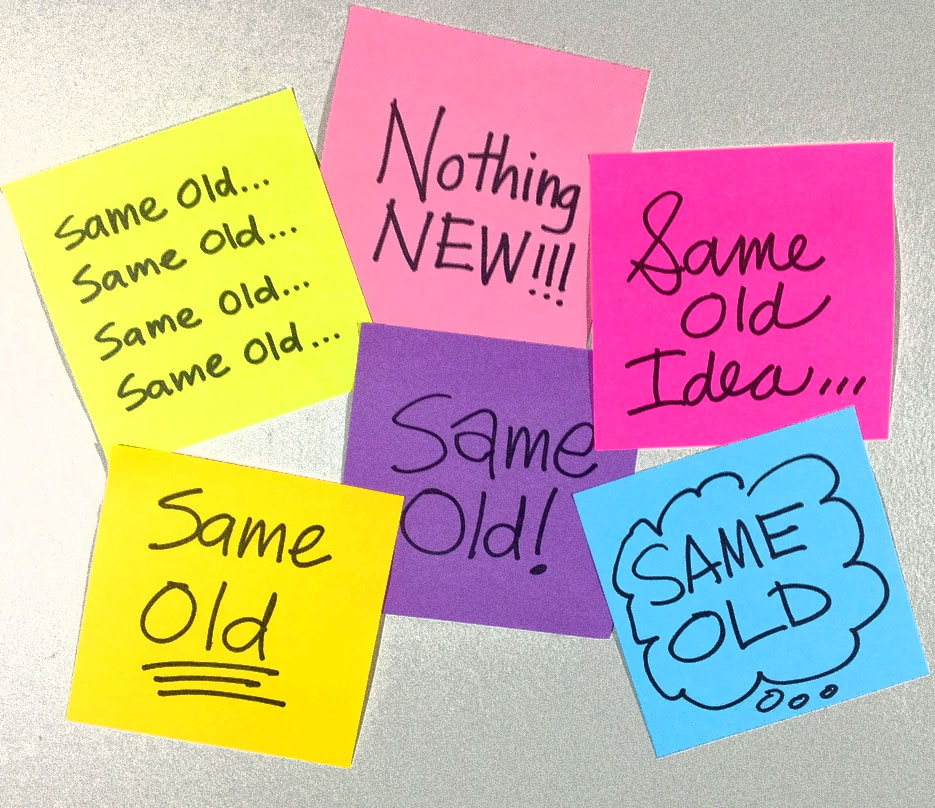 Same-Old-Ideas