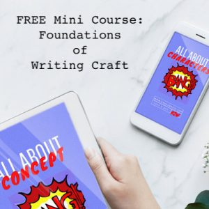 Free mini course: Foundations of Writing Craft